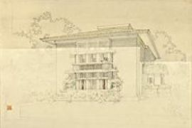 Frank Lloyd Wright The Bogk House Drawings