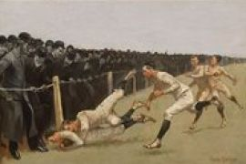 Scrimmage Football In American Art From The Civil