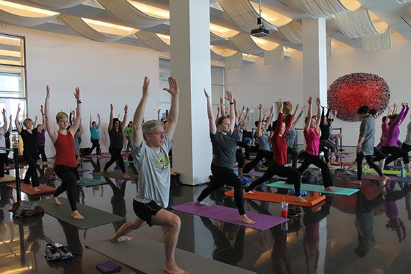 Image result for yoga at the figge